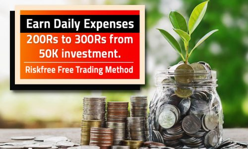 How to Earn Daily Expenses in Stock Market?