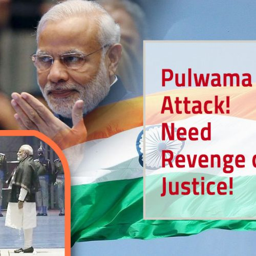 Mark the Day of Valentine's for Pulwama Attacks!