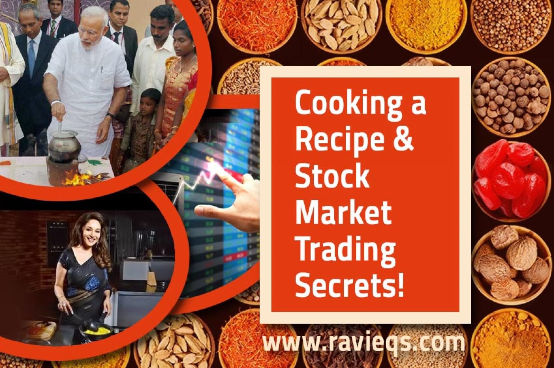 Do you Know to Cook Food? then Trade in Stock Market Now!